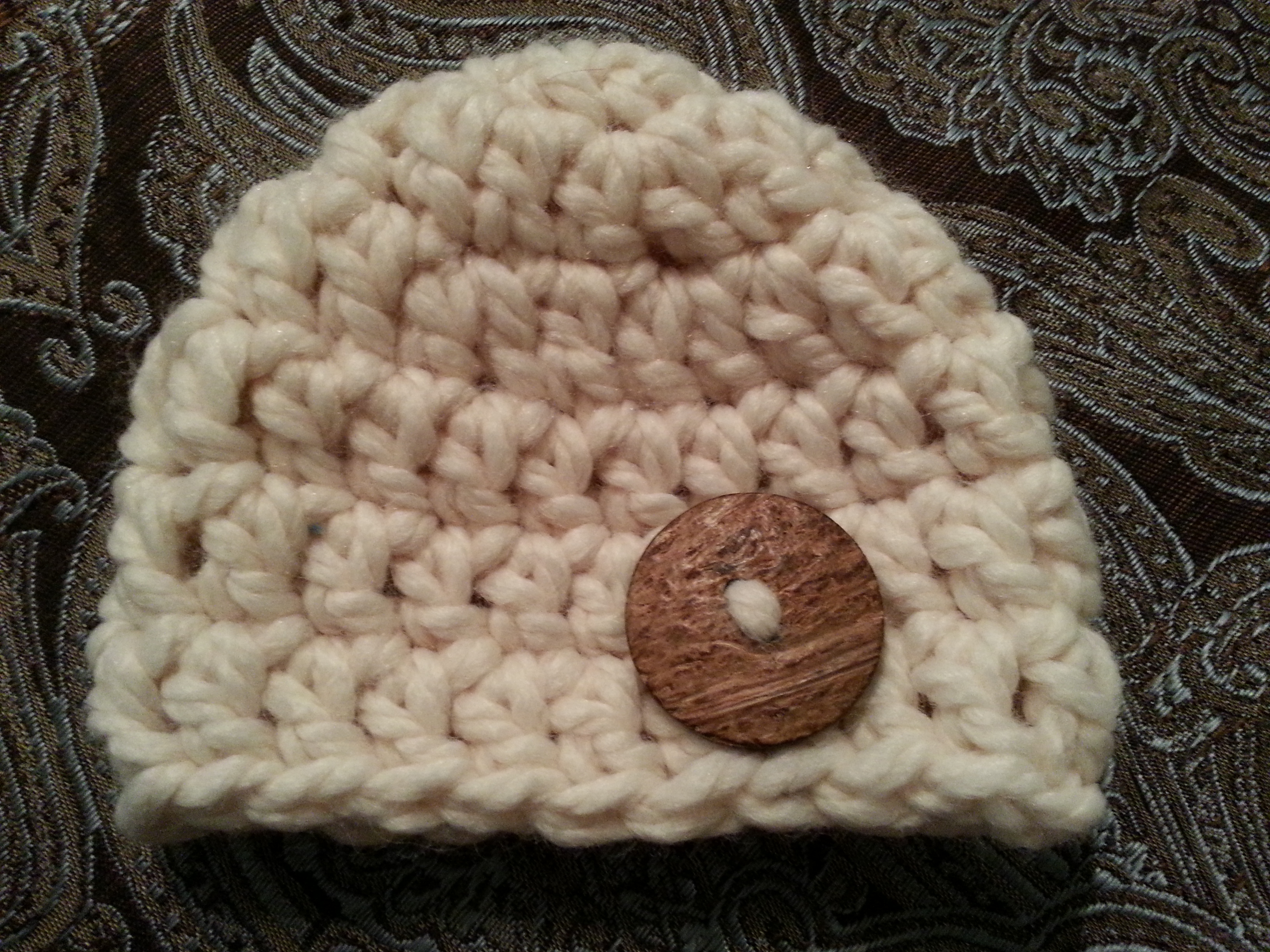 235df2a4249 Crochet Chunky Beanie Newborn Fisherman on Luulla